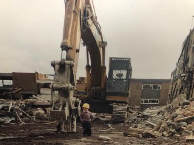 Dairy demolition, Nottingham